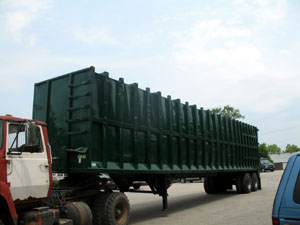 Open Top Trailer, Live Floor, Transfer Trailer, Tipper Trailer, Chipper Trailer Mulch Trailer