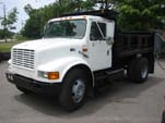 Single Axle International Dump Truck