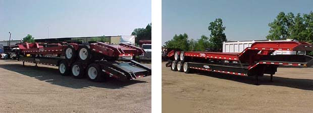 Picture of LaPine's Rigid Gooseneck lowboy Stock.